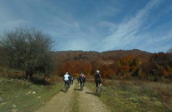 Mt. Biking route 6  Karya – Kalipefki – Egani or Palei Pori. Central    Eastern lower Olympus 729aef589d7